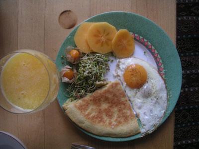Souvent Recette pour petit-déjeuner végétalien équilibré - *** Hoolistique *** XO77